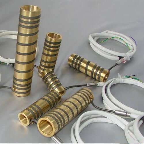Pressed-In Brass Coil Heater